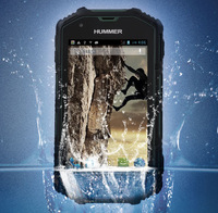 "Original Hummer H5 3G Smartphone 4.0"" Screen  IP67 Waterproof Shockproof Dustproof  512M RAM 4G ROM Android 4.2  cell phones"