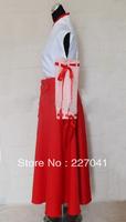 New Inuyasha Kikyo Miko Cosplay kimono costume
