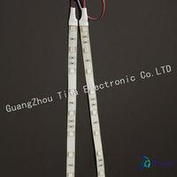 2pcs/lot High brightness 5050 SMD 30CM 18 LED waterproof flexible led strip 12v strip white color free shipping