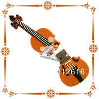 Free Shipping / New  Mini Creative U disk 8G special violin personalized gift u disk 8G genuine special/ USB Flash Drives   U034