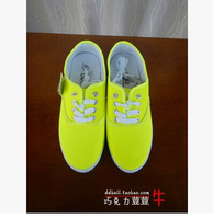 2014 Women's Shoes Neon Lovers Low Canvas Shoes Single Shoes Casual Shoes Free Shipping Wholesales