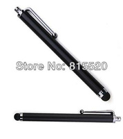 Stylus Touch Pen for Pad  Phone , Tablet PC, Smartphone Black color   100pcs / lots free shipping cost