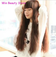 Win Beauty Cute Long Curly Hair,Synthetic Wigs Free Shipping