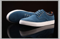 Free shipping 2014 new men, Genuine Leather , leisure, apartments, everyday,  Fashion Sneakers , men shoes, wholesale