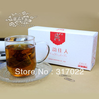 Free Shipping 10 Bags/Box Red Rose Black Tea  Rose Dianhong healthy tea  From YunNan Slimming Tea