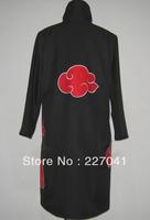 Naruto Akatsuki Uchiha Itachi Robe Cloak Cosplay Costume