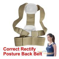 #F9s Shoulder Support Belt Flexible Posture  Back Belt Correct Rectify Posture EMS DHL Free Shipping Mail