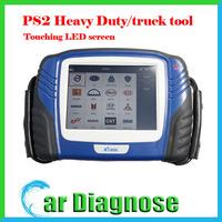 100% original Professional X-TOOL PS2 for Truck Diagnostic tool PS 2 Heavy Duty  Update via Internet Bluetooth P52