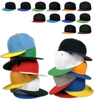 20 Special Colors- Adjustable Flat Bill Hip Hop Baseball Snapback Cap Hat