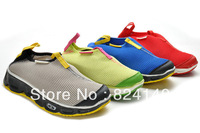 Free shipping 2013 new arrival fashion salomon sneakers for men and women,breathable sports shoes and running shoes for mens