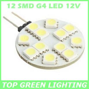 12 SMD5050 G4 LED Car Light Bulb 12V, Energy Saving G4 LED Auto Lampen, Crystal Lampe G4 Licht, LED Lampara G4 Base(China (Mainland))
