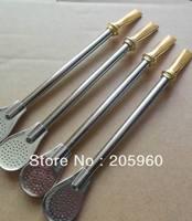 Free Shipping (12pcs/lot) Bombilla straws Yerba mate bombilla  filter straw (12 pcs/lot)