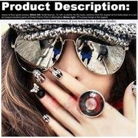 Fashion brand designer sunglasses  Hot retro Retro for Women blue film metal Glasses Sports for Men free shipping TY20