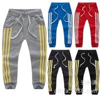 Free shipping! Spring Baby pants boy girl trousers infant pants children Pants,fashion sports trousers 5pcs\lot