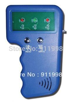 5pccs em4100 writer New hand-hold 125khz RFID Reader Writer ID card Copier duplicate copy & 10pcs free rewritable tag