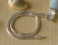 Hot Sell 10pcs/lot 8.5 inch 3MM Snake Bracelelt, Charm Bracelet, Silver Plated Bracelet Free Shipping
