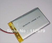 Size 503759 3.7V 1200mah Lithium polymer Battery with Protection Board For GPS Bluetooth Digital Products Free Shipping