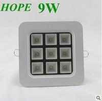 2013 Superior 9w LED  sport light,  ceiling lamp , grille lamp