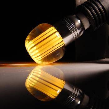E27 3W 160 Lumen RGB Remote Control Lamp Apple Head (85-265V)