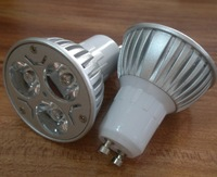 Gu10 3W led spotlight with Epistar Led chip,High brightness,Led Bulb 3W Gu10,2 years warranty, M.o.Q: 1pcs