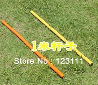 Soccer/Football Speed Agility Training Poles/Equip.,Sports Slalom/Boundary Poles(ABS plastic,3.3ft,12/set,without ground Spike)