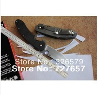 "Freeshipping New Spyderco C156GPBN Brad Southard Flipper 3.46"" CTS-204P Carpenter Steel Blade Carbon Fiber Handle folding knife"