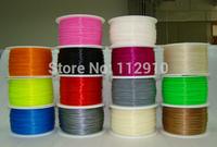 3D printer  Filament   ABS  Filament  1.75mm 1kg     black / white / red / blue / green