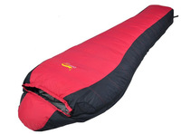 High Quality Camping Chinese Brand Mummy Duck Down Sleeping Bag Winter Sleeping Bag 2pcs/lot