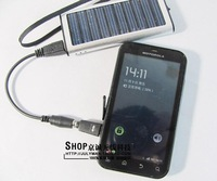 USB/ Mobile power charger usb solar mobile phone charger mp4 emergency charge  solar power bank