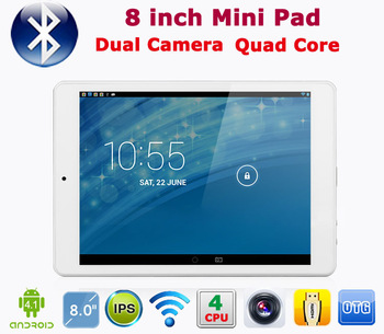 "Freeshipping Rugged Cheap V88 MINI PAD 7.9"" Android 4.0 Quad Core Bluetooth 3G External the Russian tablet PC"