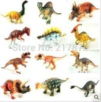 hot selling original A large dinosaur toys 12pcs set Model animal 15-18cm Children's gift PVC material simulation model dinosaur