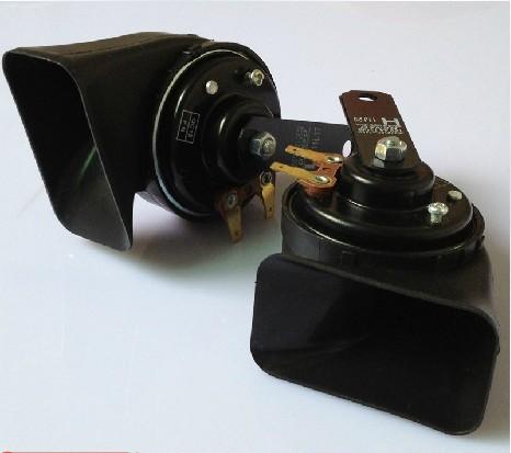 Free shipping, DENSO Car Horns, High and Low Dual Tone Horn, Senior auto Horn, ATREBLE+BASS, 500Hz+400Hz,1pair(China (Mainland))