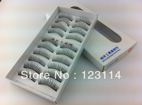 108boxes/lot false eyelashes freeshipping by EMS 9 styles makeup fashion lady beauty