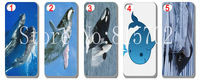 New Whale Hard Case Cover for Iphone 5 5s 5G 5th  free shipping 10pcs/lot