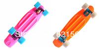 "Free shippingDHL or Fedex New 22"" Penny Nickel Stereo Retro Cruiser SkateBoard Banana board Skate long boards 2PCS/LOT"
