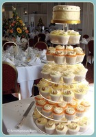 7 Tier round assembled Acrylic Cupcake Stand Wedding cupcake stand