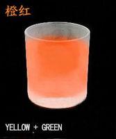 Hot sale 500g orange red glow in dark pigment,luminescent pigment,photoluminescent pigment,luminous powderFREE SHIPPING