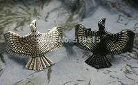 Eagle Simorgh Raven Cinereous Vulture Cuff Bangle
