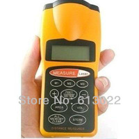 LCD Ultrasonic Distance Measurer Area & Volume Calculator with Laser Pointer