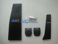 MT Fuel Brake Foot rest Pedals Sport Set For BMW M E12 E23 E24 E28 E32 E34 B