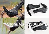1 Pair Handlebar Grips Bicycle Mountain Bike MTB Ergonomic Rubber Aluminum
