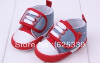 Baby toddler shoes baby warm shoes Coral velvet embroidery cartoon shoes mix colors free shipping