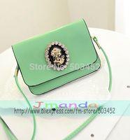 100pcs/lot Cover Design Ladies Handbag Fashion Candy Colors Women Solid Color Handbag PU Leather Handbag Wholesale Price