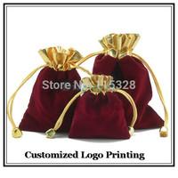 Упаковочные пакеты Dianmei 100pcs/Lot 5x7cm & Velvet Gift Bags 20121028102