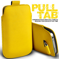 Free Shipping !!! wholesale - PREMIUM PU LEATHER PULL TAB CASE COVER POUCH FOR iphone 4 4s 5 5s pull TAB