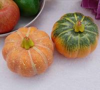Free shipping 4pcs/lot high artificial pumpkins foam vegetables fruit mould photograph mold halloween decoration
