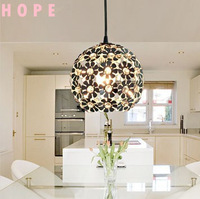 2013 new product modern simple style crystal pendant light E14