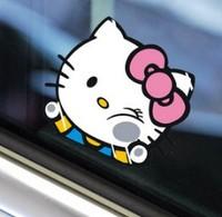 New cute cartoon car sticker Hello Kitty sticker car decal DIY sticker lovely