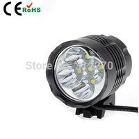 High Power 7000lm CREE XM-L 5xT6 LED Bike Light Lamp HeadLamp HeadLight Camping Headlight + Battery Pack+Charger