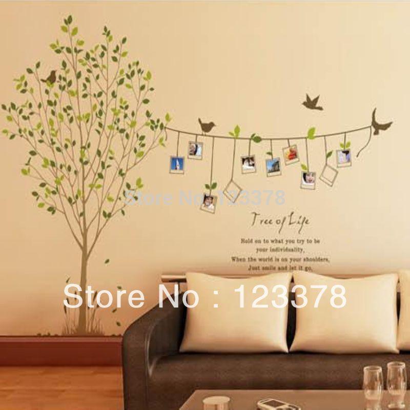 Grand arbre arbre de m moire stickers muraux grands stickers muraux tv hot ve - Vente arbres grands sujets ...